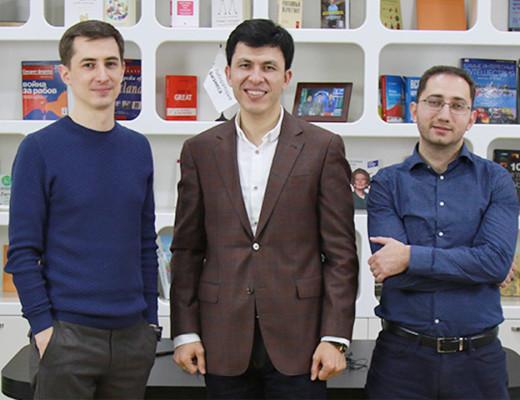 Лаборатория бизнеса: Сурен Сапов, Хикмат Абдурахманов, Арсен Длянчев