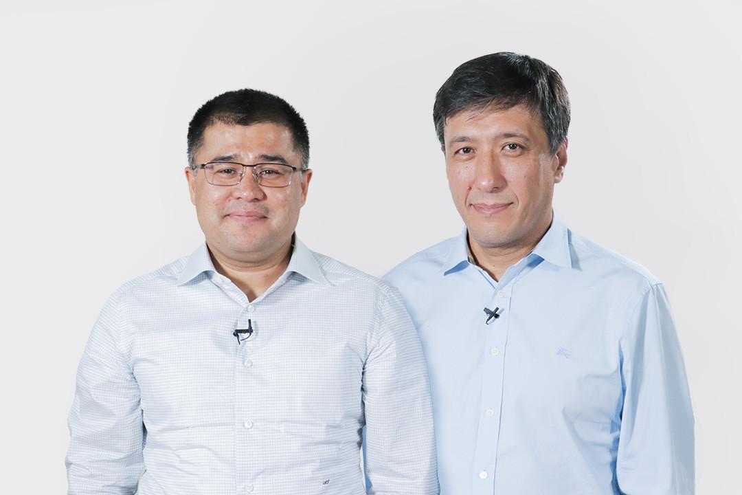 Зафар Хашимов и Анвар Ирчаев